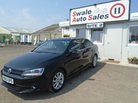 USED 2013 63 VOLKSWAGEN JETTA 1.6 LTD EDITION TDI BLUEMOTION TECHNOLOGY 4d 104 BHP £33 PER WEEK NO DEPOSIT, SEE FINANCE LINK BELOW