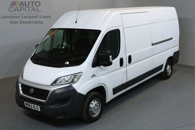 2015 65 FIAT DUCATO 2.3 35 MULTIJET 130 BHP L3 H3 LWB HIGH ROOF ONE OWNER FROM NEW, MOT UNTIL 11/06/2019