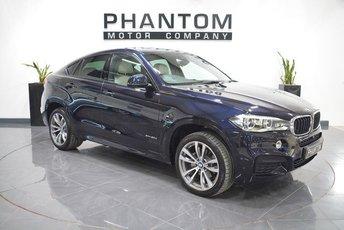 2015 BMW X6 3.0 XDRIVE30D M SPORT 4d AUTO 255 BHP £33490.00