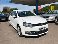 USED 2014 64 VOLKSWAGEN POLO 1.2 SE TSI 3d 89 BHP NEED FINANCE? WE STRIVE FOR 94% ACCEPTANCE