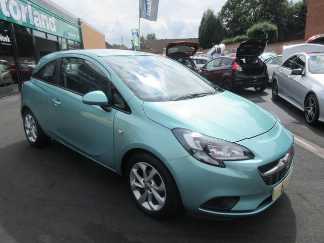 USED 2015 15 VAUXHALL CORSA 1.4 EXCITE AC ECOFLEX 3d 89 BHP ** 01543 379066 ** JUST ARRIVED