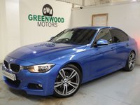 2013 BMW 3 SERIES 3.0 330d BluePerformance M Sport Sport Auto (s/s) 4dr £14994.00