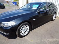 USED 2013 13 BMW 5 SERIES 2.0 520D SE TOURING 5d AUTO 181 BHP