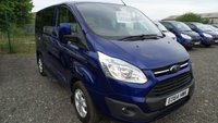 2014 FORD TOURNEO CUSTOM 2.2 300 LIMITED TDCI 5d 153 BHP £13750.00