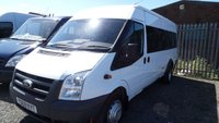 2010 FORD TRANSIT 2.4 430 SHR BUS 17 STR 1d 115 BHP £5750.00
