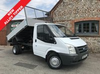 USED 2007 07 FORD TRANSIT 2.4 350 MWB 1d 100 BHP Direct BT, New Alloy Tipper, Well Above Average Example, Finance Arranged.