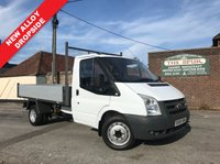 USED 2008 08 FORD TRANSIT 2.4 350 MWB 1d 100 BHP New Alloy Dropside Body Fitted, Direct BT, One Owner.