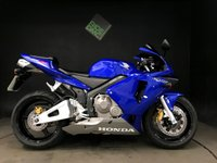 2004 HONDA CBR 600 RR-4. SERVICED. 1334 MILES. THE BEST YOU WILL FIND £4900.00