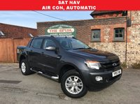 USED 2015 15 FORD RANGER 3.2 WILDTRAK 4X4 DCB TDCI 1d AUTO 197 BHP PRICE CUT, Automatic, Air Conditioning, Satellite Navigation, Only 20,000 Miles.