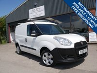 USED 2012 62 FIAT DOBLO 1.2 16V MULTIJET 1d 90 BHP ONE FORMER KEEPER WITH FULL SERVICE HISTORY