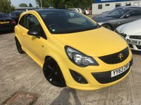 2014 VAUXHALL CORSA 1.2 LIMITED EDITION 3d 83 BHP £5780.00