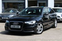 USED 2014 64 AUDI A6 AVANT 2.0 TDI 190PS ULTRA S LINE 5d AUTO 188 BHP FSH ** SAT-NAV ** LEATHER ** DAB ** IPOD ** FINANCE AVAILABLE ** PX
