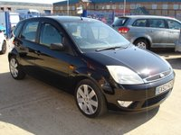 USED 2002 52 FORD FIESTA 1.4 GHIA 16V 5d 78 BHP   NEW CAMBELT  FITTED AT 50K