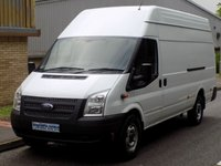 2013 FORD TRANSIT JUMBO 2.2 RWD EL LWB 350 HIGH ROOF 125 BHP 6 SPEED  £6995.00