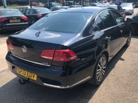 USED 2013 13 VOLKSWAGEN PASSAT 2.0 SPORT TDI BLUEMOTION TECHNOLOGY 4d 175 BHP LOW MILES, FULL SERVICE HISTORY