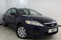 USED 2008 58 FORD MONDEO 1.8 EDGE TDCI 5DR 124 BHP CRUISE CONTROL + MULTI FUNCTION WHEEL + AIR CONDITIONING + RADIO/CD + ELECTRIC WINDOWS + ELECTRIC MIRRORS
