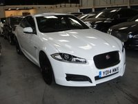 2014 JAGUAR XF 2.2 D R-SPORT 4d AUTO 200 BHP £14980.00