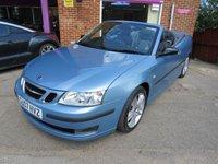 2007 SAAB 9-3 2.0 1.8T VECTOR ANNIVERSARY 2d 151 BHP £4495.00