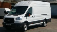 2014 FORD TRANSIT 2.2 350 C/C DRW 1d 124 BHP NO VAT TO ADD ON THIS JUMBO TRANSIT 2 OWNERS \ FREE 12 MONTHS WARRANTY COVER \ £11390.00