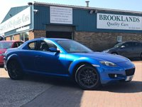 2006 MAZDA RX-8 2.6 231PS 4 Door 228 BHP Winning Blue 2 Owners 47800 miles Lots of History £2995.00