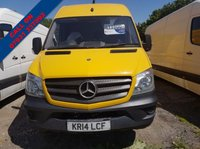 USED 2014 14 MERCEDES-BENZ SPRINTER 2.1 313 CDI LWB 1d 129 BHP VERY CLEAN VEHICLE SUPERB DRIVE READY FOR WORK