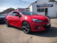 2016 VAUXHALL ASTRA 1.4 GTC LIMITED EDITION S/S 3d 118 BHP £10995.00