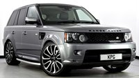 """USED 2011 61 LAND ROVER RANGE ROVER SPORT 3.0 SD V6 HSE 4X4 5dr Auto [8] Black Pack, 22""""s, Privacy, TV"""