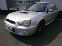 USED 2005 05 SUBARU IMPREZA 2.0 WRX TURBO 5dr FITTED WITH WRX PERFORMANCE PACK - TIMING BELT REPLACED RECENTLY