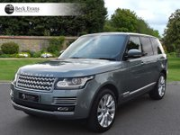 USED 2015 15 LAND ROVER RANGE ROVER 4.4 SDV8 AUTOBIOGRAPHY 5d AUTO 339 BHP PANORAMIC SUNROOF