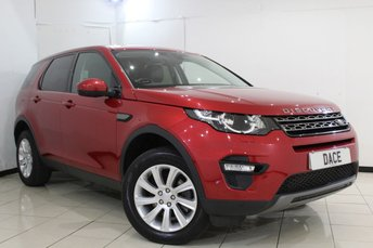 2015 LAND ROVER DISCOVERY SPORT 2.2 SD4 SE TECH 5DR AUTOMATIC 190 BHP £23970.00