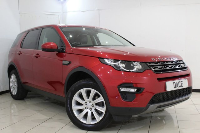 View our 2015 15 LAND ROVER DISCOVERY SPORT 2.2 SD4 SE TECH 5DR AUTOMATIC 190 BHP