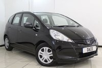 USED 2011 61 HONDA JAZZ 1.2 I-VTEC S AC 5DR 89 BHP FULL SERVICE HISTORY + AIR CONDITIONING + RADIO/CD + ELECTRIC WINDOWS + AUXILIARY PORT + ELECTRIC MIRRORS