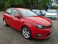 2014 SEAT IBIZA 1.6 TDI CR FR 5dr £7995.00
