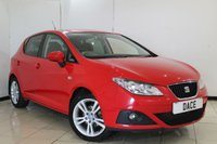 USED 2011 11 SEAT IBIZA 1.4 CHILL 5DR 85 BHP SERVICE HISTORY + CRUISE CONTROL + AIR CONDITIONING + AUXILIARY PORT + 15 INCH ALLOY WHEELS