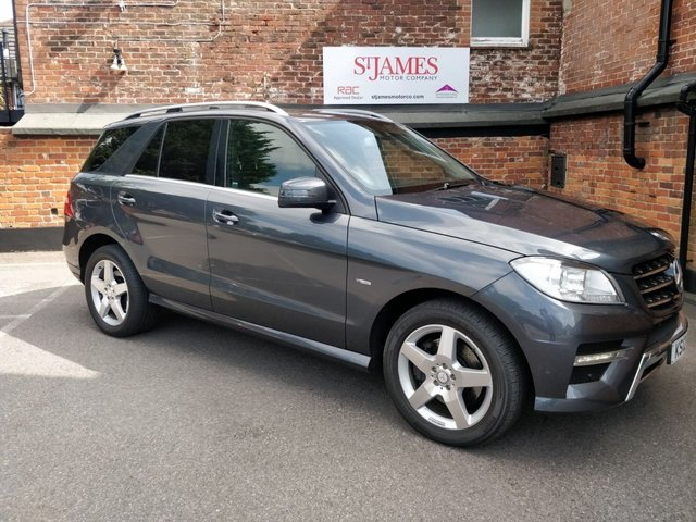 2012 12 MERCEDES-BENZ M CLASS 3.0 ML350 BLUETEC SPORT 5d AUTO 258 BHP