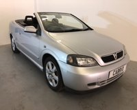 2004 VAUXHALL ASTRA 1.8 COUPE CONVERTIBLE 16V 2d 125 BHP £1500.00