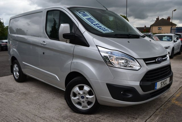 2015 15 FORD TRANSIT CUSTOM 2.2 270 LIMITED LR P/V 1d 124 BHP