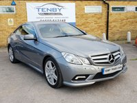 2010 MERCEDES-BENZ E CLASS 3.0 E350 CDI BLUEEFFICIENCY SPORT 2d AUTO 231 BHP £11984.00