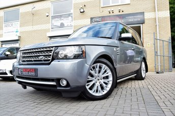 2012 LAND ROVER RANGE ROVER 4.4 TDV8 WESTMINSTER AUTOMATIC £19995.00