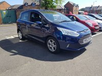 USED 2013 62 FORD B-MAX 1.0 ZETEC 5d 100 BHP HIGHLY SOUGHT AFTER ECOBOOST MODEL, LOW INSURANCE AND RUNNING COSTS, VERY RELIABLE