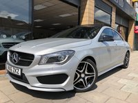 USED 2016 16 MERCEDES-BENZ CLA 1.6 CLA 180 AMG LINE 4d AUTO 121 BHP