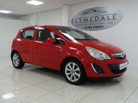 USED 2012 62 VAUXHALL CORSA 1.2 ACTIVE 5d 83 BHP 1 OWNER, FULL SERVICE HISTORY, MOT 23.5.19, HALF LEATHER