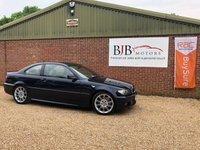 2004 BMW 3 SERIES 3.0 330CI SPORT 2d 228 BHP £4995.00