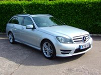 2011 MERCEDES-BENZ C CLASS 2.1 C220 CDI BLUEEFFICIENCY SPORT ED125 5d 170 BHP £9475.00