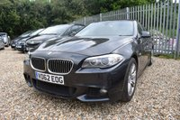 USED 2012 62 BMW 5 SERIES  520D M SPORT 4d AUTOMATIC 181 BHP