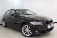 USED 2010 10 BMW 3 SERIES 2.0 318D SE BUSINESS EDITION 4DR 141 BHP SERVICE HISTORY + LEATHER SEATS + SAT NAVIGATION + PARKING SENSOR + BLUETOOTH + CRUISE CONTROL + MULTI FUNCTION WHEEL + CLIMATE CONTROL + 17 INCH ALLOY WHEELS