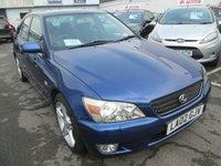 2002 LEXUS IS 2.0 200 SE 4d 153 BHP £POA