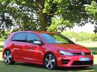 2015 VOLKSWAGEN GOLF 2.0 R DSG 5d AUTO 298 BHP £20990.00
