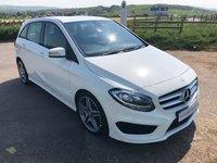 2015 MERCEDES-BENZ B CLASS 1.5 B180 CDI AMG LINE 5d AUTO 107 BHP £12995.00