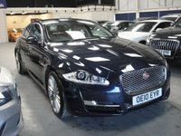 USED 2010 10 JAGUAR XJ 3.0 D V6 PORTFOLIO SWB 4d AUTO 275 BHP ANY PART EXCHANGE WELCOME, COUNTRY WIDE DELIVERY ARRANGED, HUGE SPEC